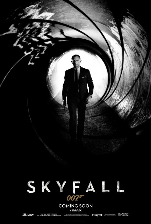 James Bond oo7 skyfallen