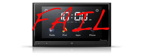 appradio pioneer fail
