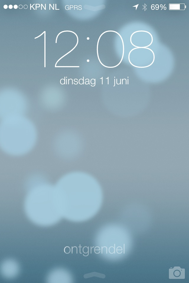 lockscreen ios 7