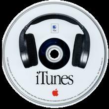 iTunes 1.0 install schijf