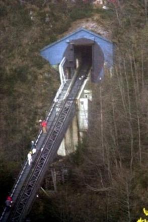 Trein Kaprun 4 na de brand