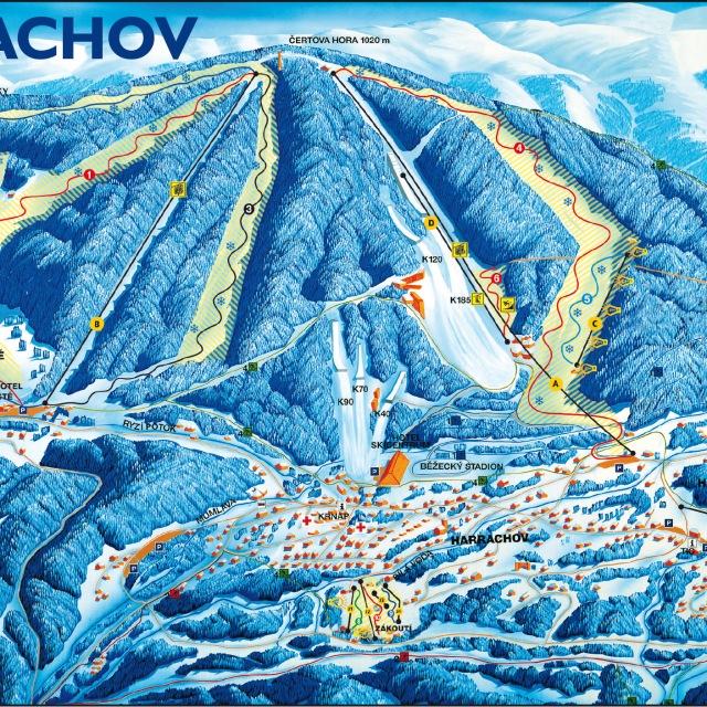 Skigebied Harrachov